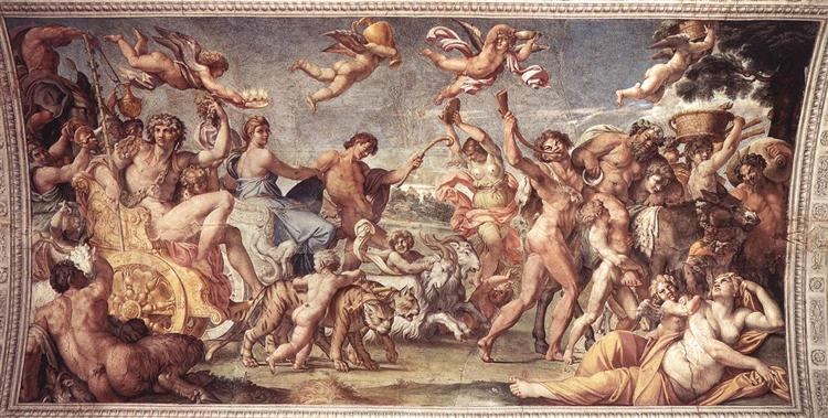 Triumph of Bacchus and Ariadne - Carracci Annibale