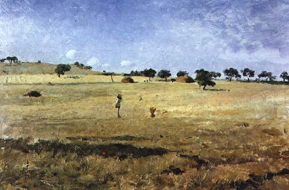 A Ceifa (Lumiar), 1884 - Антоніо Карвалью да Сілва Порто