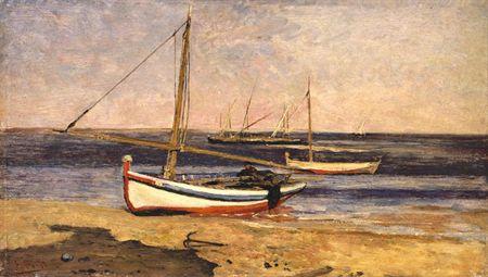 Canoas (Setúbal), 1883 - António de Carvalho da Silva Porto