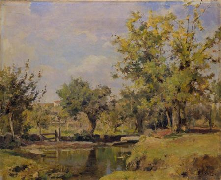 Lugar do Prado (Santa Marta - Minho), 1892 - António de Carvalho da Silva Porto