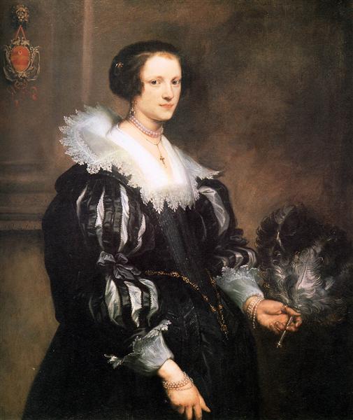 Anna Wake, 1628 - Anthony van Dyck