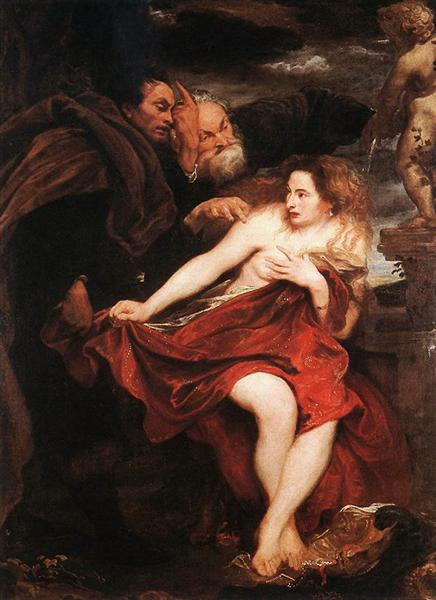 Susanna and the Elders, 1621 - 1622 - Anthony van Dyck