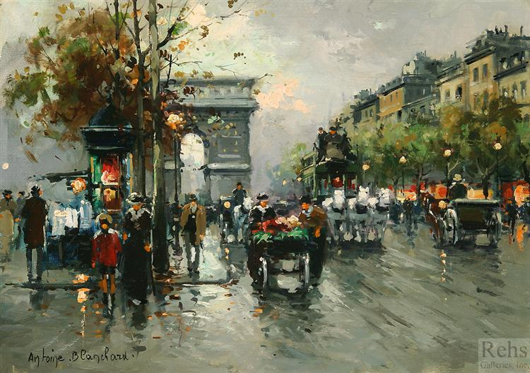 Arc de Triomphe - Antoine Blanchard