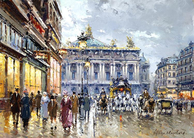 Avenue de l'Opera - Antoine Blanchard