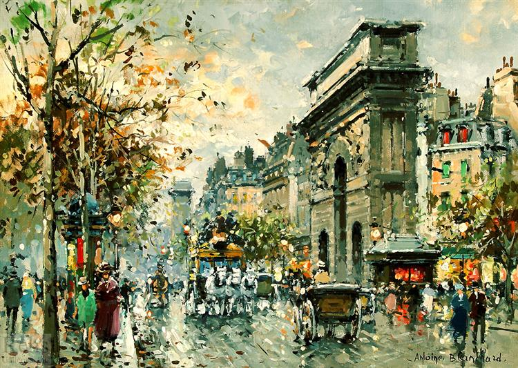 Porte St. Martin - Antoine Blanchard