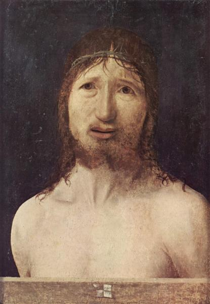 Ecce Homo, 1470 - Antonello da Messina