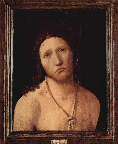 Ecce Homo, 1474 - Antonello da Messina