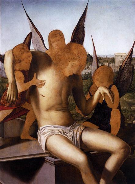 Pieta, c.1475 - Antonello da Messina