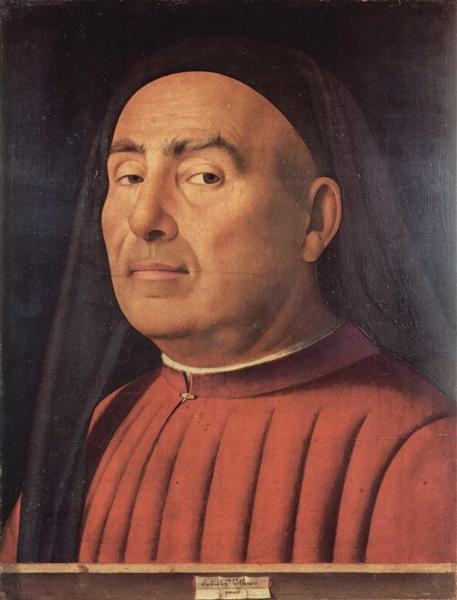 Portrait of a Man (Trivulzio portrait), 1476 - Antonello da Messina