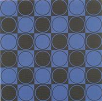 Carre bleu et noir - Antonio Asis