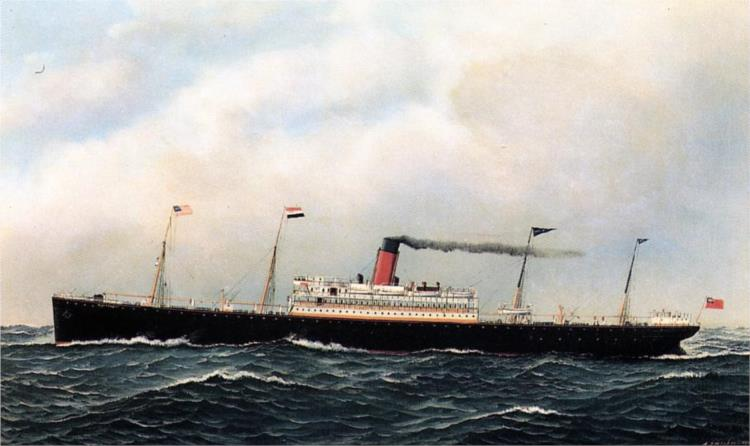 The Minnehaha, 1902 - Антонио Якобсен