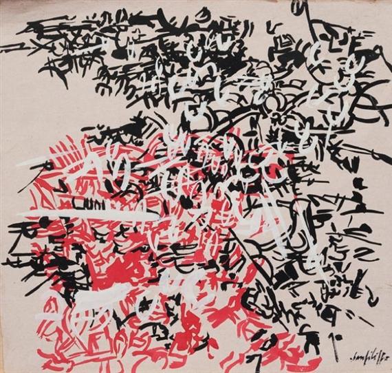 Composizione, 1955 - Antonio Sanfilippo