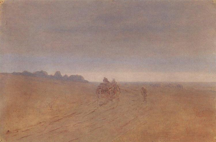 Autumn. Fog, c.1908 - Arkhip Kuindzhi