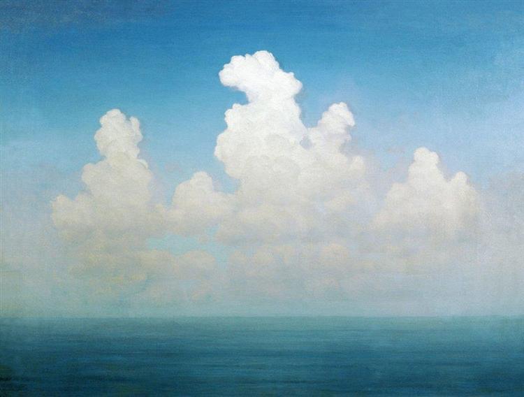 Cloud, 1895 - Arkhip Kuindzhi