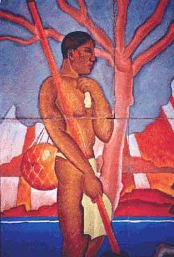Hawaiian Figure, 1930 - Arman Manookian