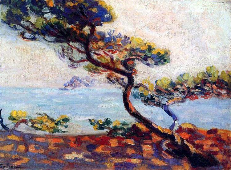 Dans le Midi, 1910 - Armand Guillaumin