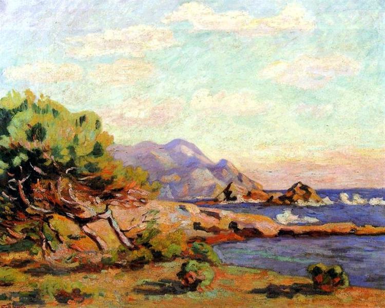 La Pointe du Lou Gaou, 1911 - Armand Guillaumin