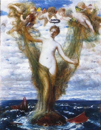 Venus Anadyomene - Arnold Böcklin