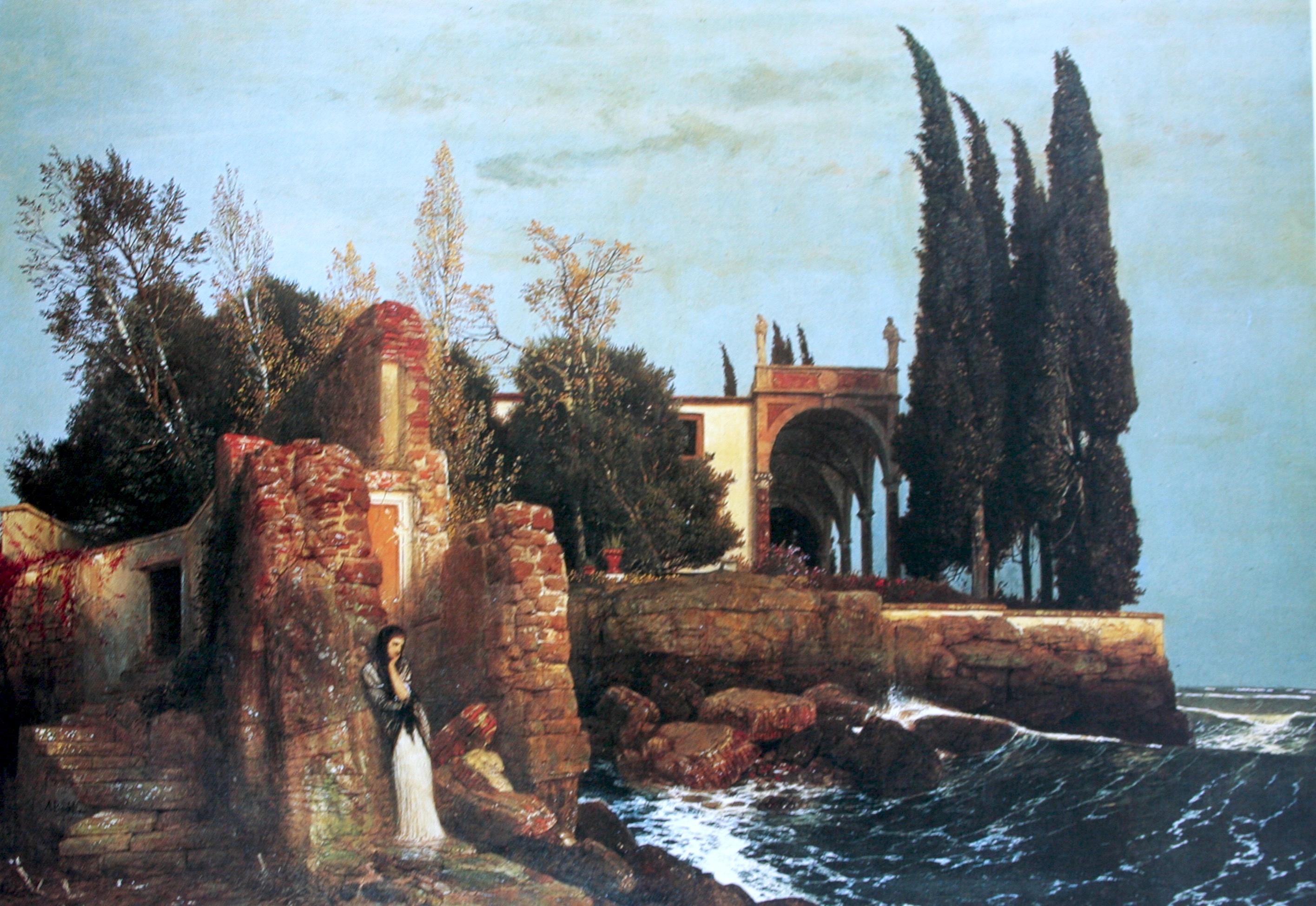 Villa By The Sea Arnold B Cklin