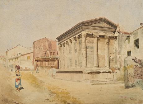Virivis Fortuna temple, 1890 - Arshak Fetvadjian