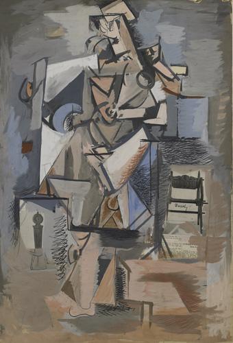 Untitled (Cubist Figure), c.1930 - Arshile Gorky