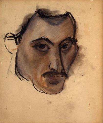 Untitled (Self-Portrait), c.1928 - c.1929 - Arshile Gorky
