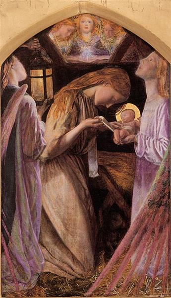 The Nativity - Arthur Hughes