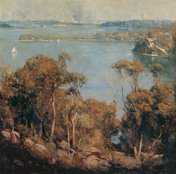 Sydney Harbour - Arthur Streeton