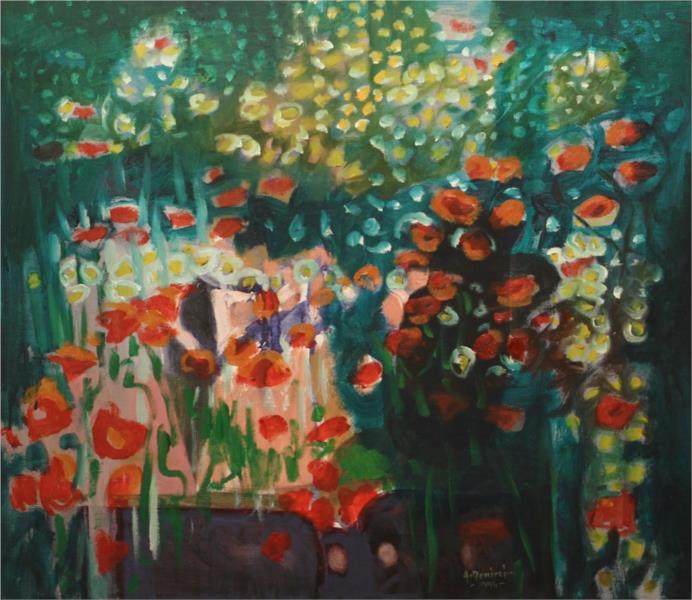 Poppies, 1996 - Artin Demirci