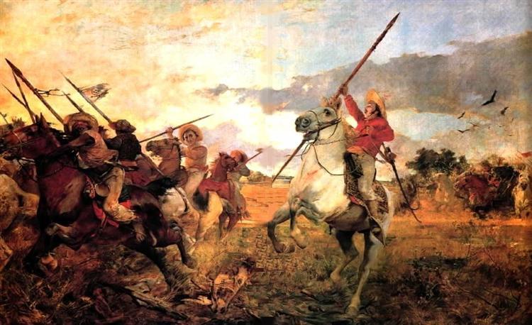 Vuelvan caras, 1890 - Arturo Michelena