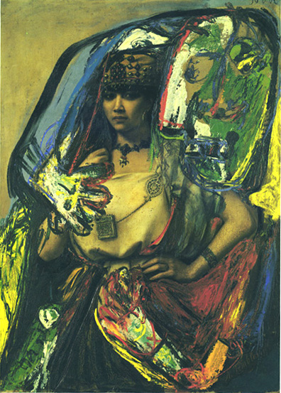 The Barber and the Berber (Defiguration), 1962 - Asger Jorn
