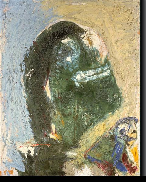 The Timid Proud One, 1957 - Asger Jorn