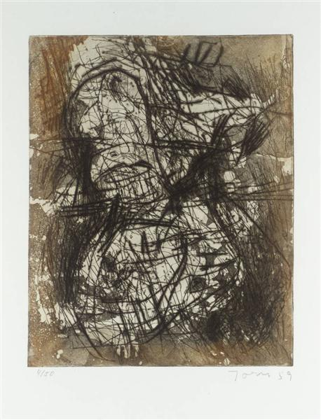 Untitled A, 1959 - Asger Jorn