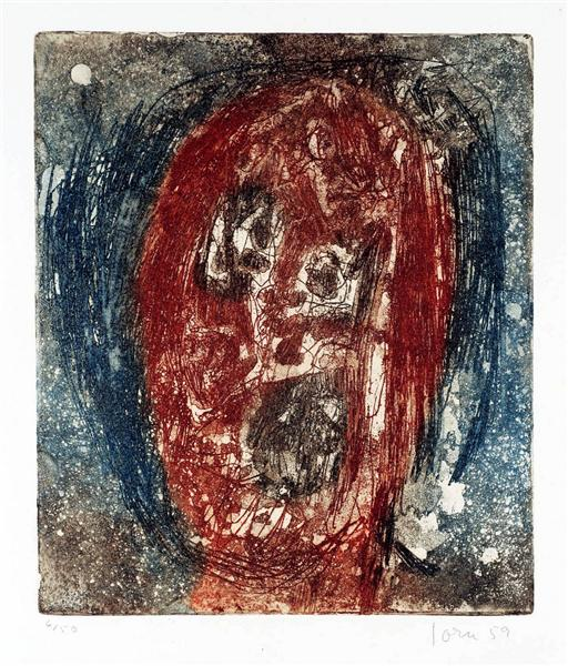 Untitled C, 1959 - Asger Jorn