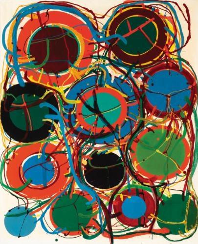 Untitled, 1963 - Atsuko Tanaka