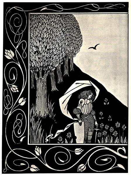 A Devil in Woman's Likeness, 1893 - Aubrey Beardsley