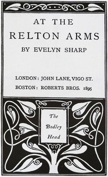 At The Relton Arms, 1895 - Aubrey Beardsley