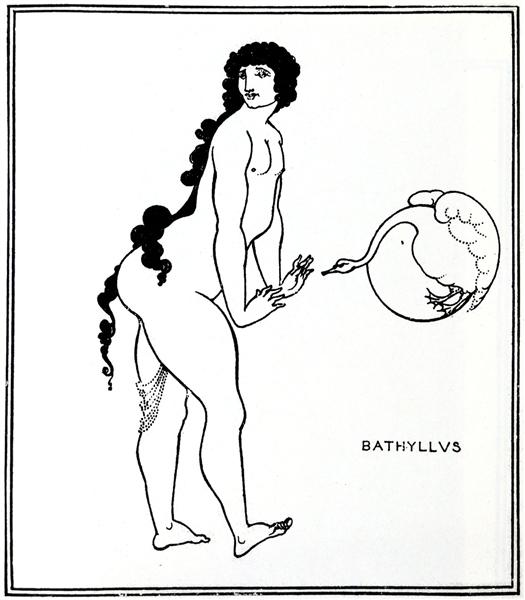 Bathyllus in the Swan Dance, 1896 - Aubrey Beardsley