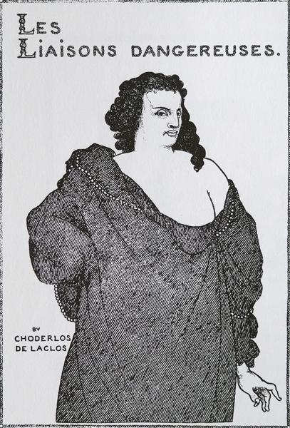 Count Valmont, 1896 - Aubrey Beardsley