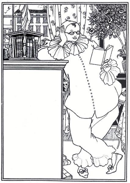 Pierrot, 1896 - Aubrey Beardsley