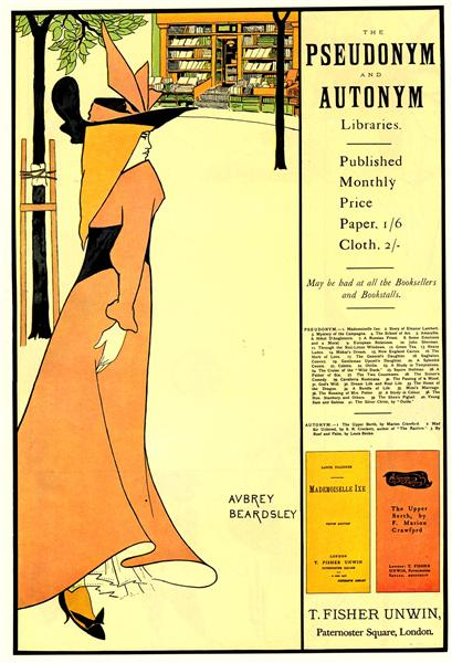 Publicity poster for 'The Yellow Book' - Aubrey Beardsley