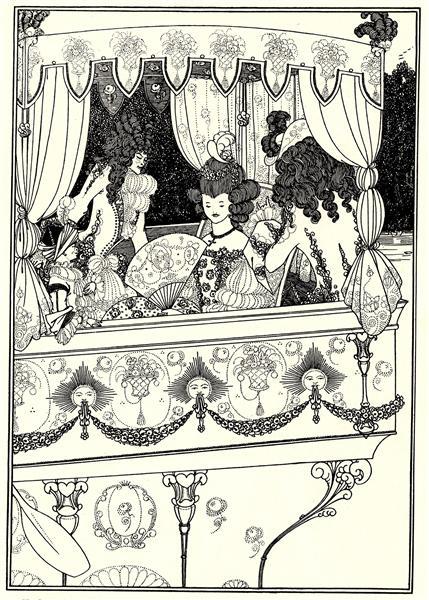 The Barge, 1896 - Aubrey Beardsley