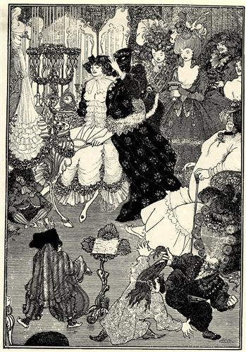 The Toilet of Helen - Aubrey Beardsley