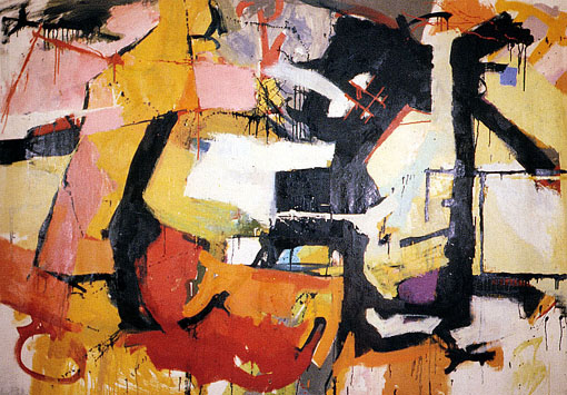 Abstract Force - Homage to Franz Kline, 1952 - Audrey Flack