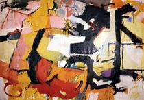 Abstract Force - Homage to Franz Kline - Audrey Flack
