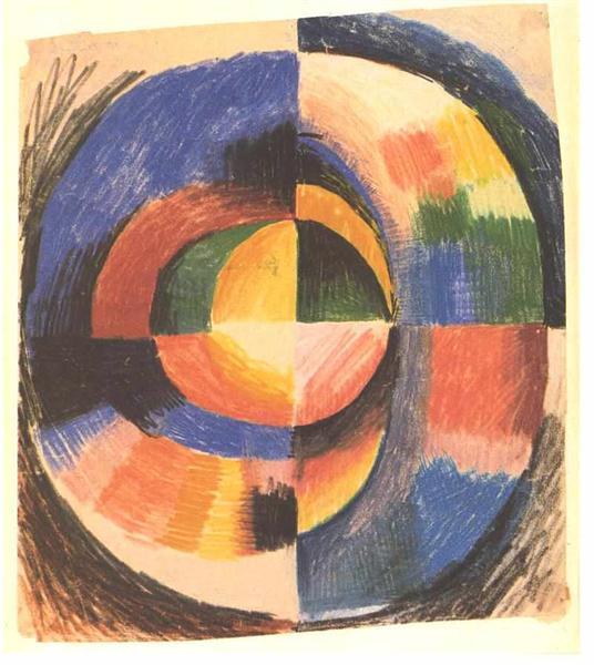 Colour circle - August Macke