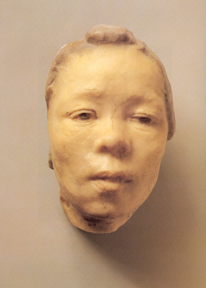 Mask of Hanako, the Japanese Actress, 1911