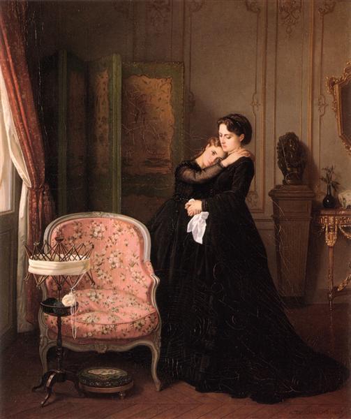 Consolation, 1867 - Auguste Toulmouche