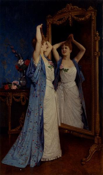 La Toilette, 1890 - Auguste Toulmouche