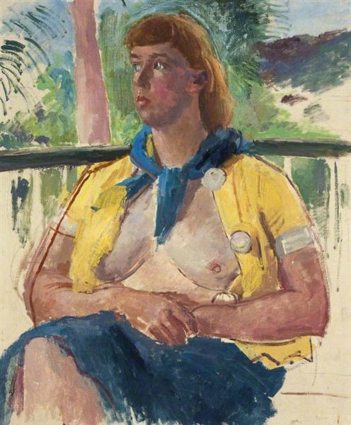Brigit Macnamara, 1937 - Augustus John